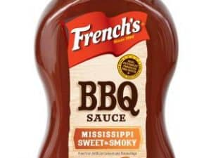 BBQ Mississippi Sweet French's 396g