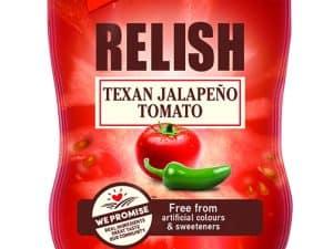 Relish Jalapeno & Paradicsom Texas 320 g