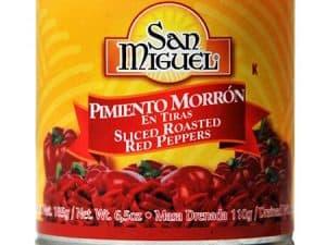 Sült Paprika Red Pepper 185 g San Miguel