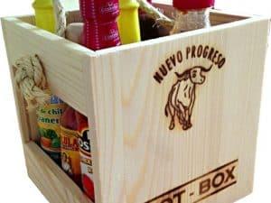 Chili mártás doboz – HOT – BOX