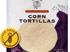 "Tortilla kukorica Retail 6"" (15cm) 12db, vákumos"