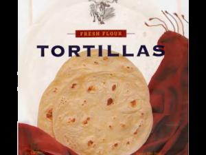 """Tortilla 10"""" búza (25 cm) 6db – AMBIENT"""